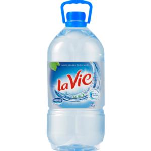 Nước khoáng Lavie chai 5L
