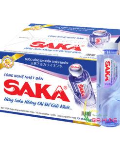 Nước uống ion kiềm Saka