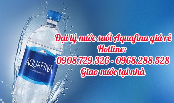 giao nước suối aquafina