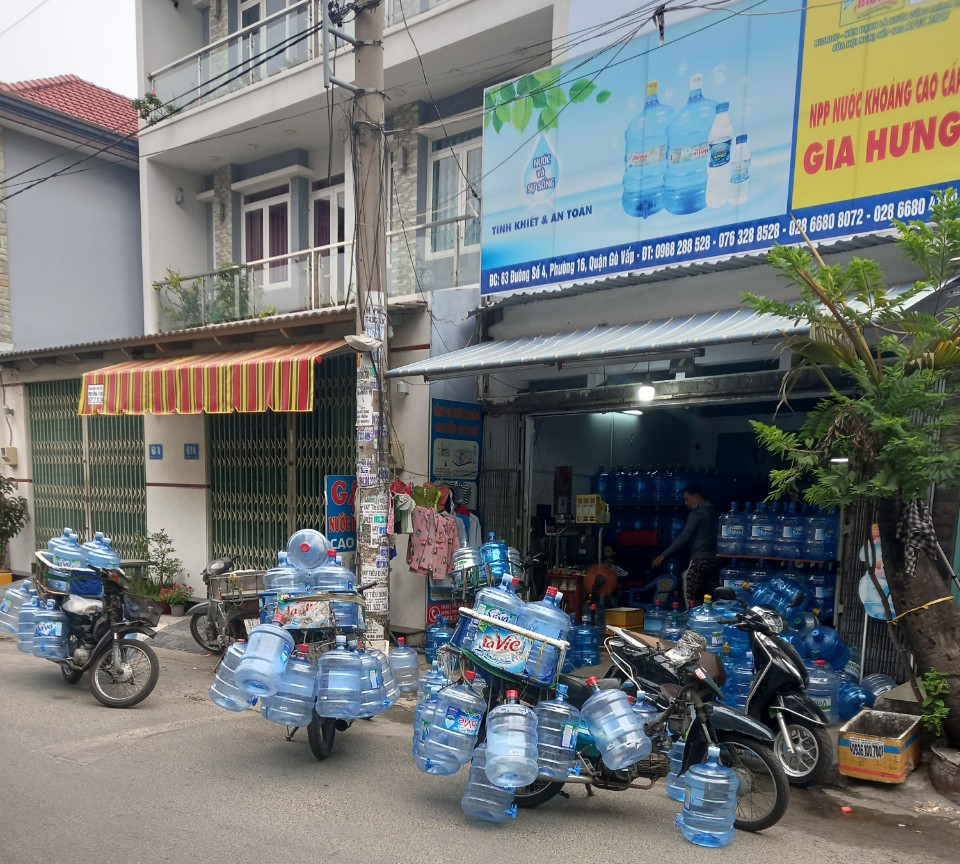 Dịch vụ gia nước uống Gia Hưng