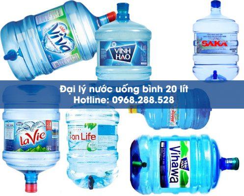 đại lý nước bình 20 lít