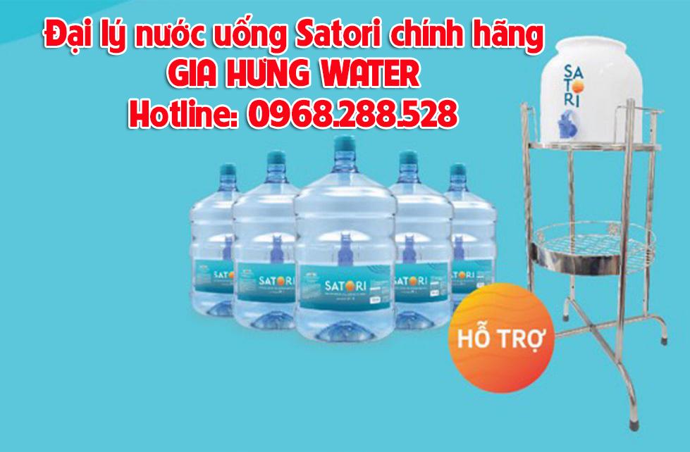 phân phối nước uống Satori