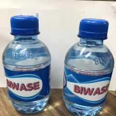 thùng nước suối Biwase 250ml