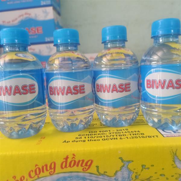 Nước suối chai nhỏ BIWASE 210ml