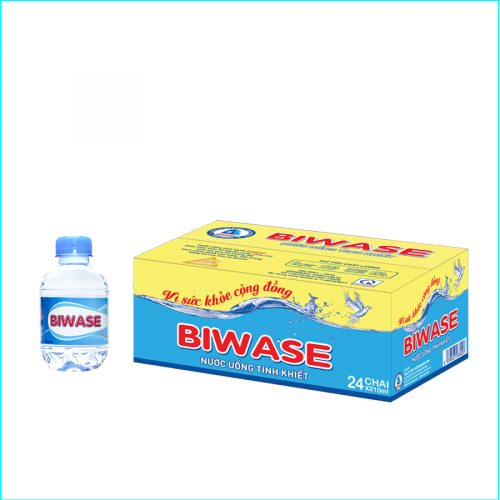 Nước uống đóng chai BIWASE 210ml